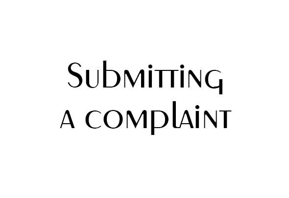 ثبت شکایات کاربران سایت