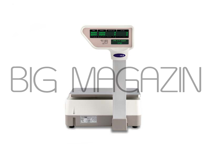 ترازوی دیجیتال 30 کیلوئی صدر دارای لیبل پرینتر مدل LSG15 A