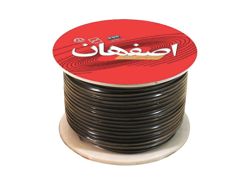 کابل افشان اصفهان 4×2 حلقه 100متری