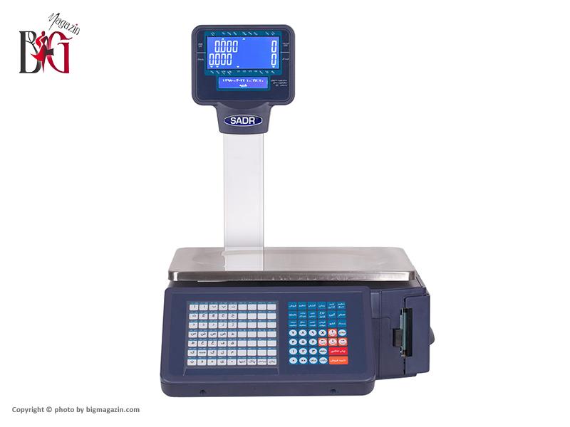 ترازوی دیجیتال 30 کیلوئی صدر دارای لیبل پرینتر مدل LSG18 A