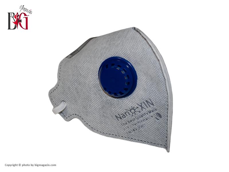ماسک تنفسی سوپاپ دار Nanoxin مدل N95