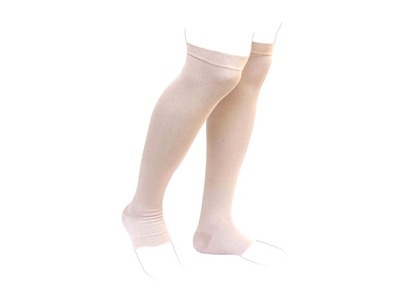جوراب واریس ورنا معمولی کفه دار تا بالای زانو AF verna varicose socks AD