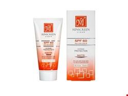 کرم ضد آفتاب فاقد چربی رنگی مای SPF60