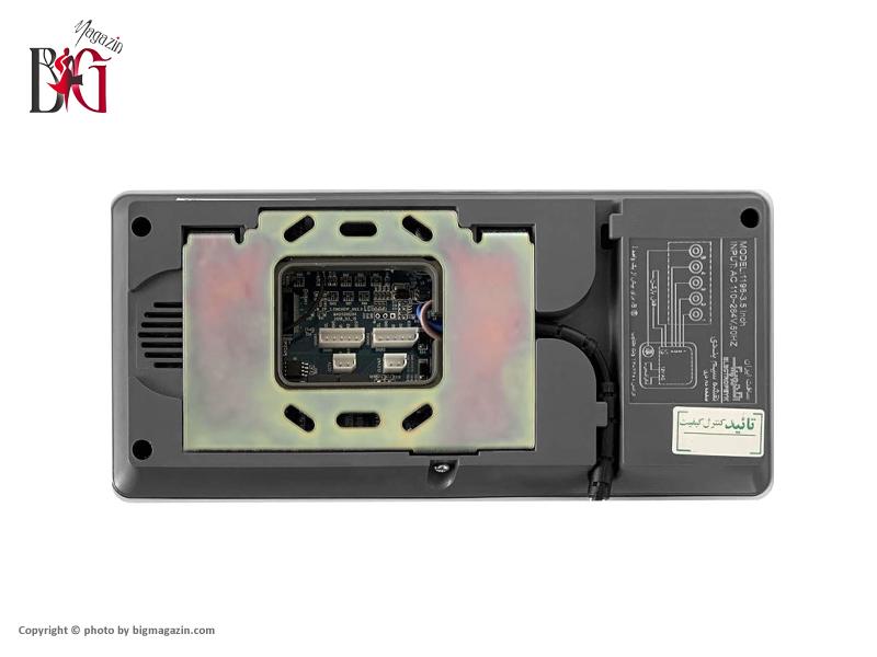 مانیتور تصویری الکتروپیک مدل 1196 |حافظه دار|3/5 اینچی|رنگی