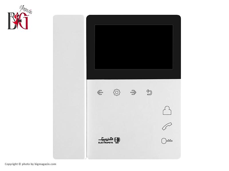 مانیتور تصویری رنگی الکتروپیک 4/3 اینچ مدل 897 | بدون حافظه