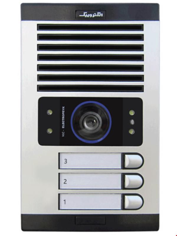 پنل تصویری الکتروپیک سه واحدی مدل 1086(FD)