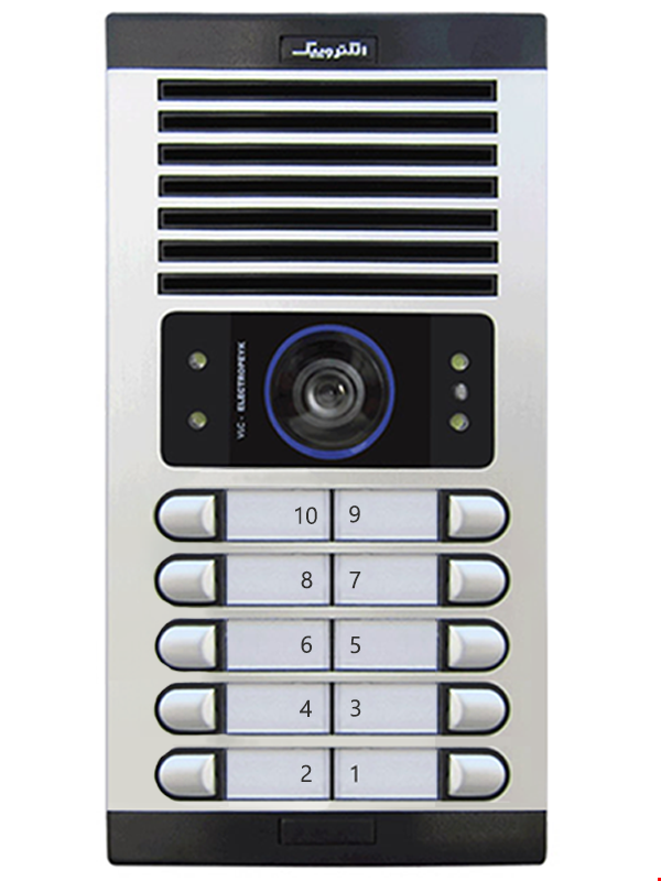 پنل تصویری ده واحدی الکتروپیک مدل 1086(FD)