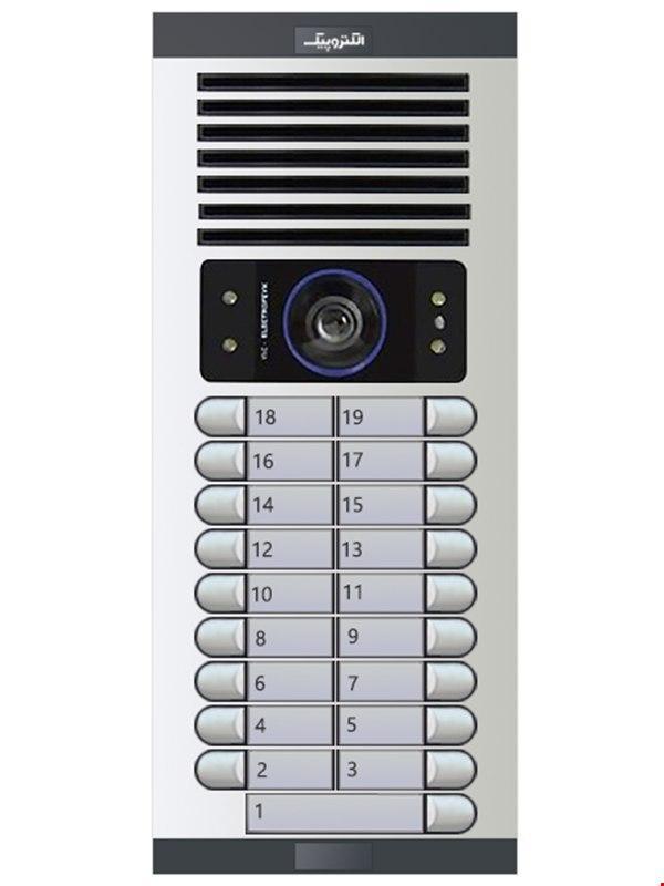 پنل تصویری نوزده واحدی الکتروپیک مدل 1086(FD)