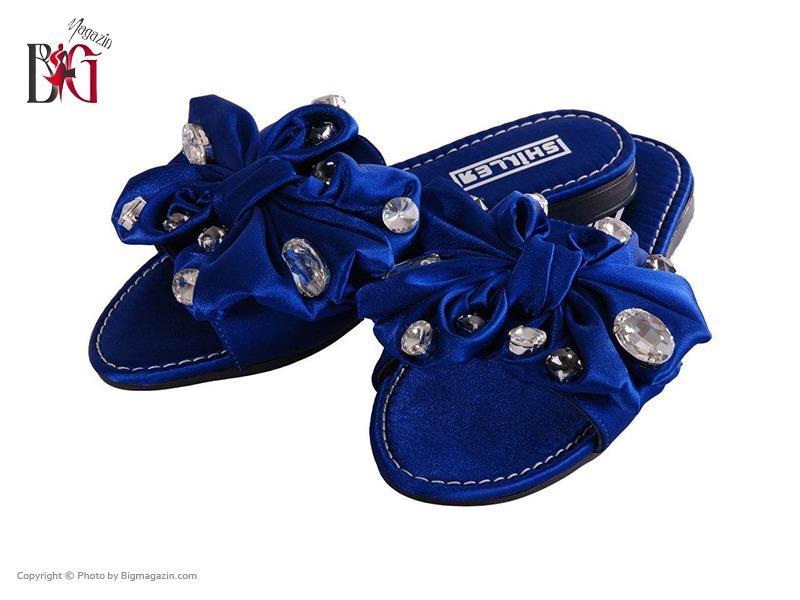 صندل زنانه شیلر کد NF 116 رنگ آبی 01