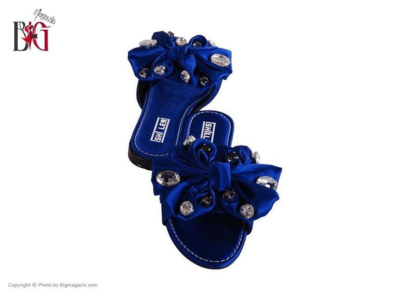 صندل زنانه شیلر کد NF 116 رنگ آبی 05