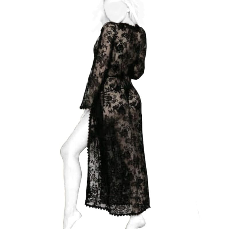لباس خواب فانتزی بلند کد T3005
