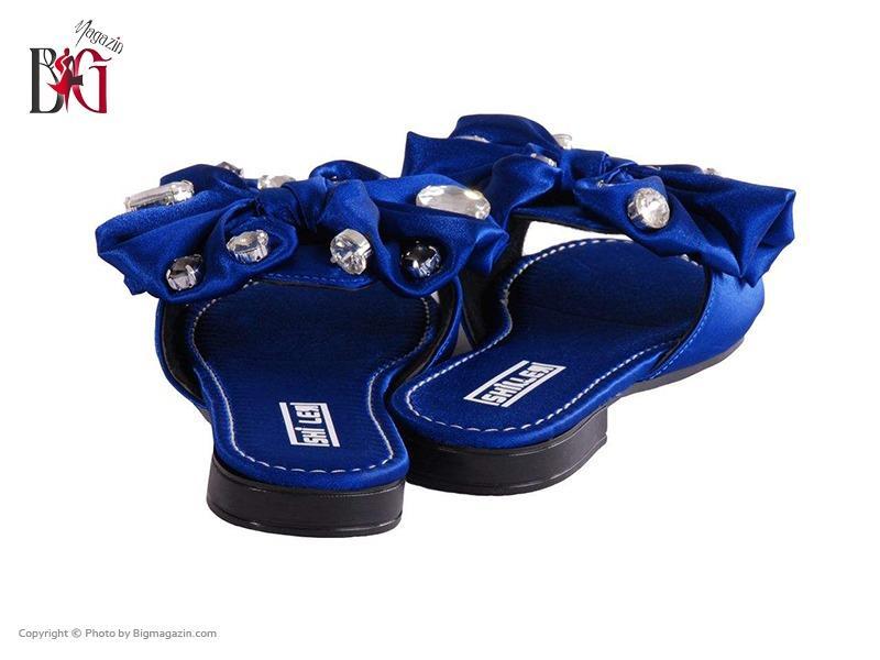 صندل زنانه شیلر کد NF 116 رنگ آبی 02