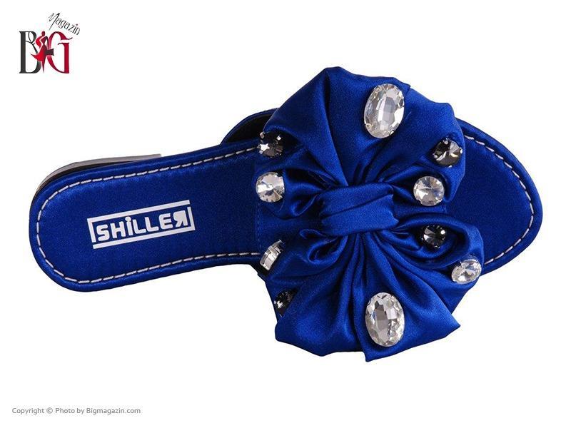صندل زنانه شیلر کد NF 116 رنگ آبی 04