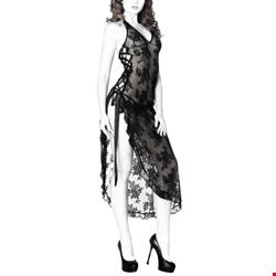 لباس خواب فانتزی دانتل بلند NA36