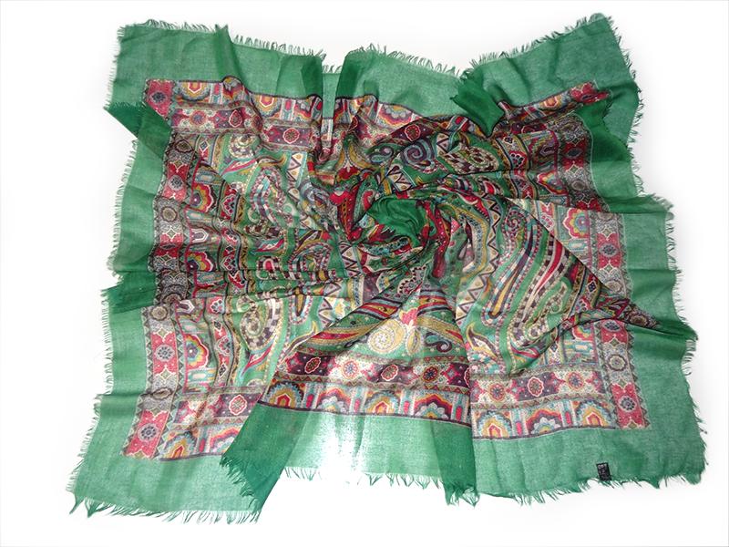روسری نخی بته جقه دور ریش آسگولداس کد 15035