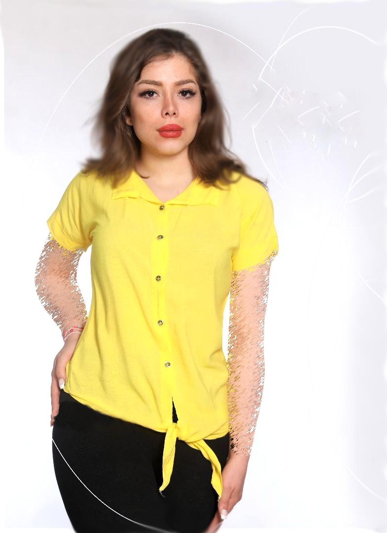 پیراهن زنانه ساده مدل گره در bigmagazin