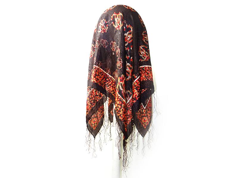 روسری چروک رومانو نخ ریز 15028 Romano