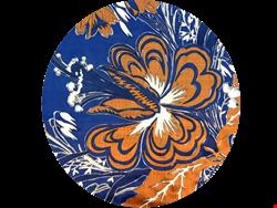 روسری ساتن چینی دور دوز نقره کوب XDD 15023