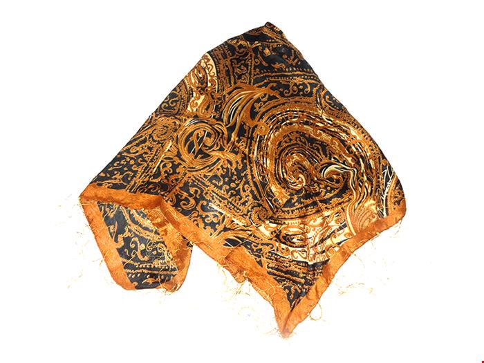 روسری چروک رومانو نخ ریز Romano 15028
