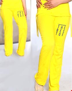 شلوار جذب بلند رنگ زرد مدل the best of