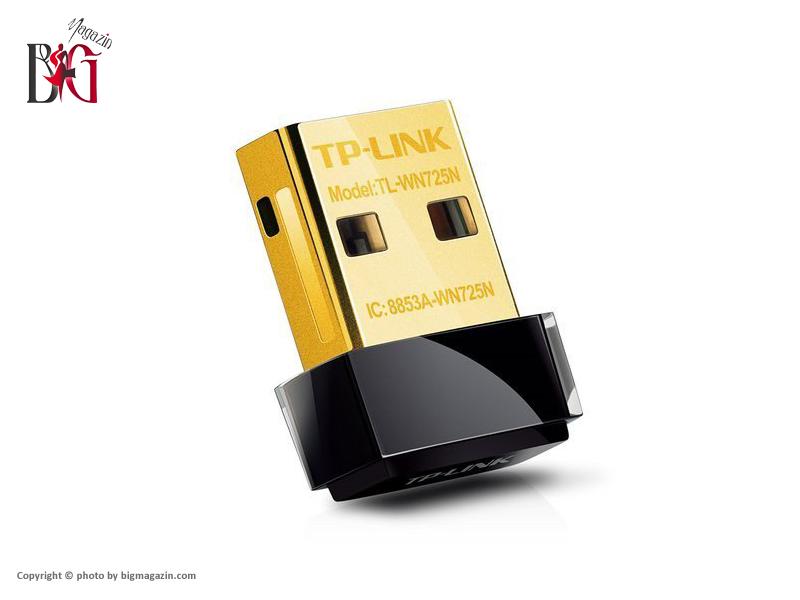 کارت شبکه USB بی سیم N150 Nano تی پی-لینک مدل TL-WN725N05