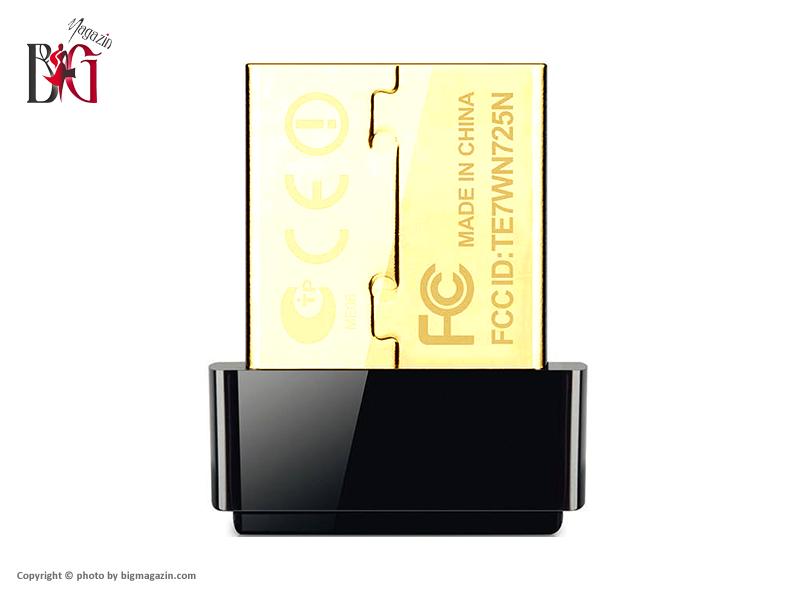 کارت شبکه USB بی سیم N150 Nano تی پی-لینک مدل TL-WN725N06