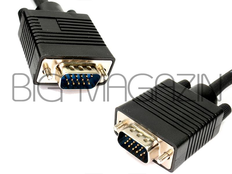 کابل افزایش طول 5 متری VGACABLE VGA UC TECH 5Mبهترین کیفیت در BIGMAGAZIN کابل مانیتور کامپیوتر و ویدیو پرژکتور 5 متری VGA UC TECH