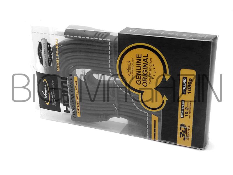 cable HDMI10m کابل اچ دی ام آی   ونوس VENOUS 10Mانتقال بهترین کیفیت تصویرمجله بزرگ
