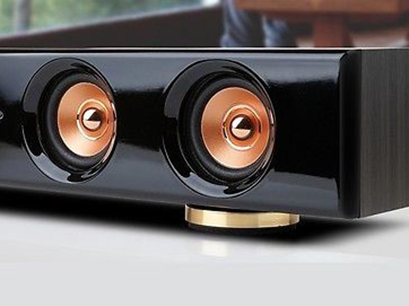 Midas S3 Soundbar Speaker Slim PC Laptop Computer LCD LED Monitor USBpower Black