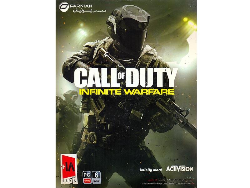 بازی کامپیوتری Call Of Duty Infinite Warfare شرکت پرنیان