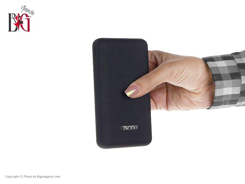 شارژر همراه تسکو مدل TP 875 ظرفیت 20000 میلی آمپر ساعت