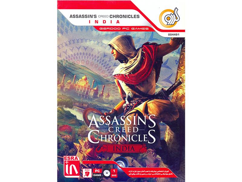 بازی کامپیوتری Assassins Creed Chronicles /INDIA شرکت گردو