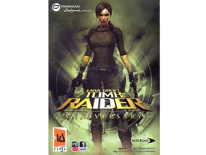 بازی کامپیوتری Lara Croft Tomb Raider Anniversary شرکت پرنیان