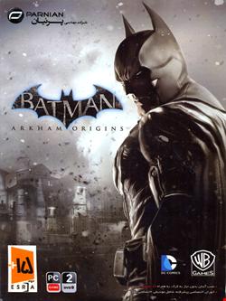 بازی کامپیوتر بتمن BATMAN ARKHAM ORIGINS شرکت پرنیان