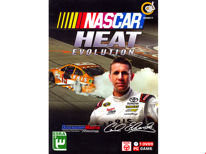 بازی کامپیوتری NasCar Heat Evolution شرکت گردو