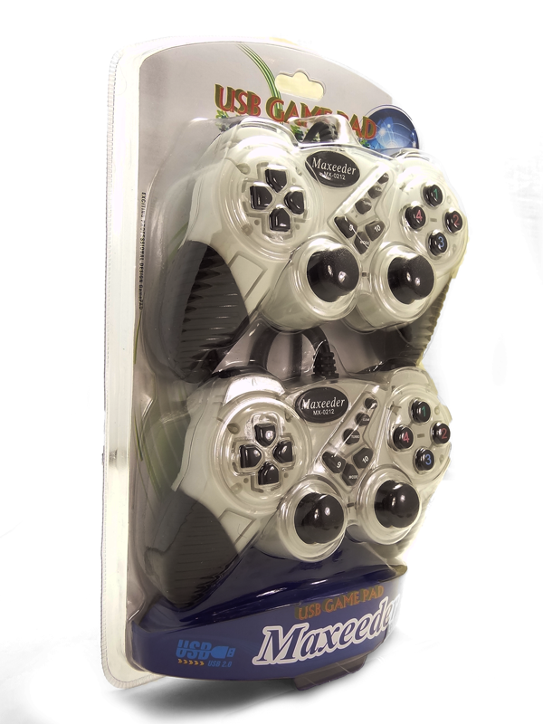 Maxeeder Vibration Gamepad Double